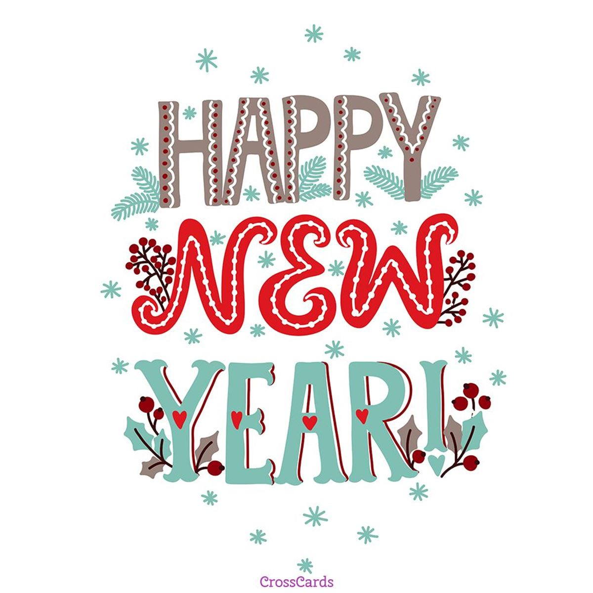Happy New Year Ecard Online Card
