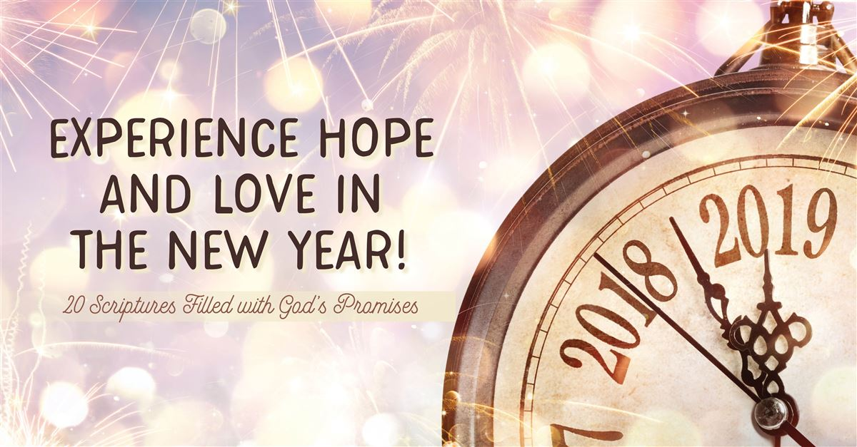 20 Scriptures Filled with God's Promises for the New Year