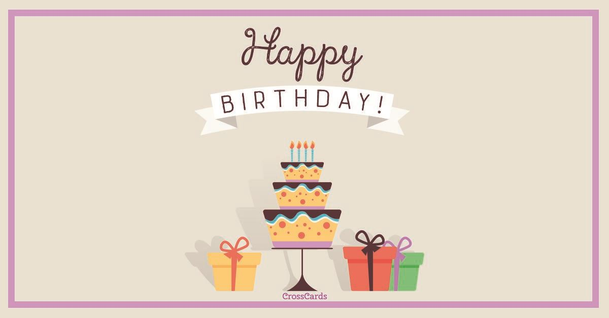 Happy Birthday! ecard, online card