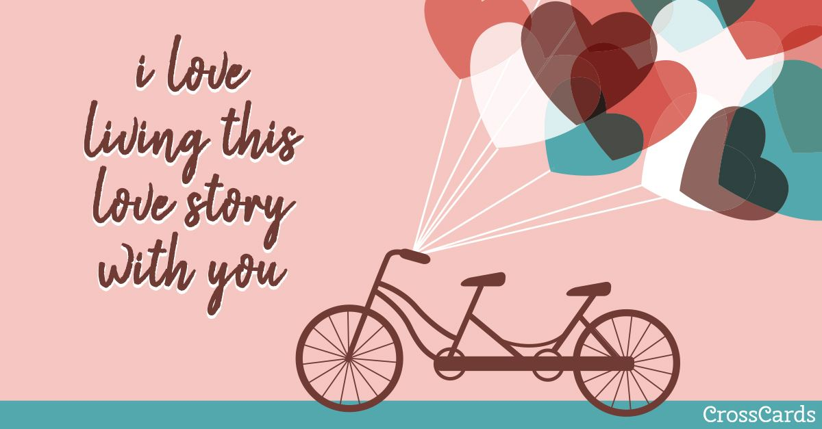 Love Story ecard, online card