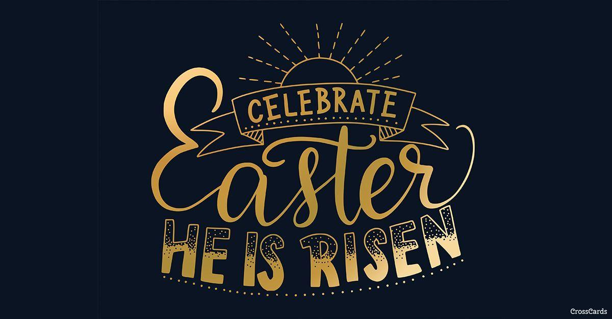 Celebrate Easter ecard, online card