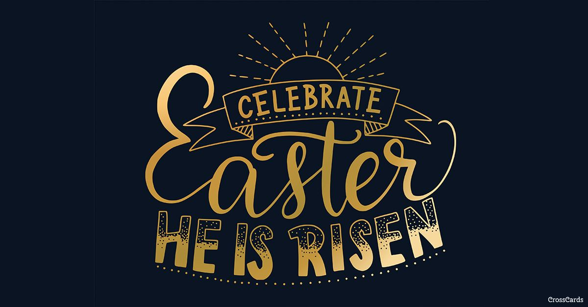 Celebrate Easter ecard, online card