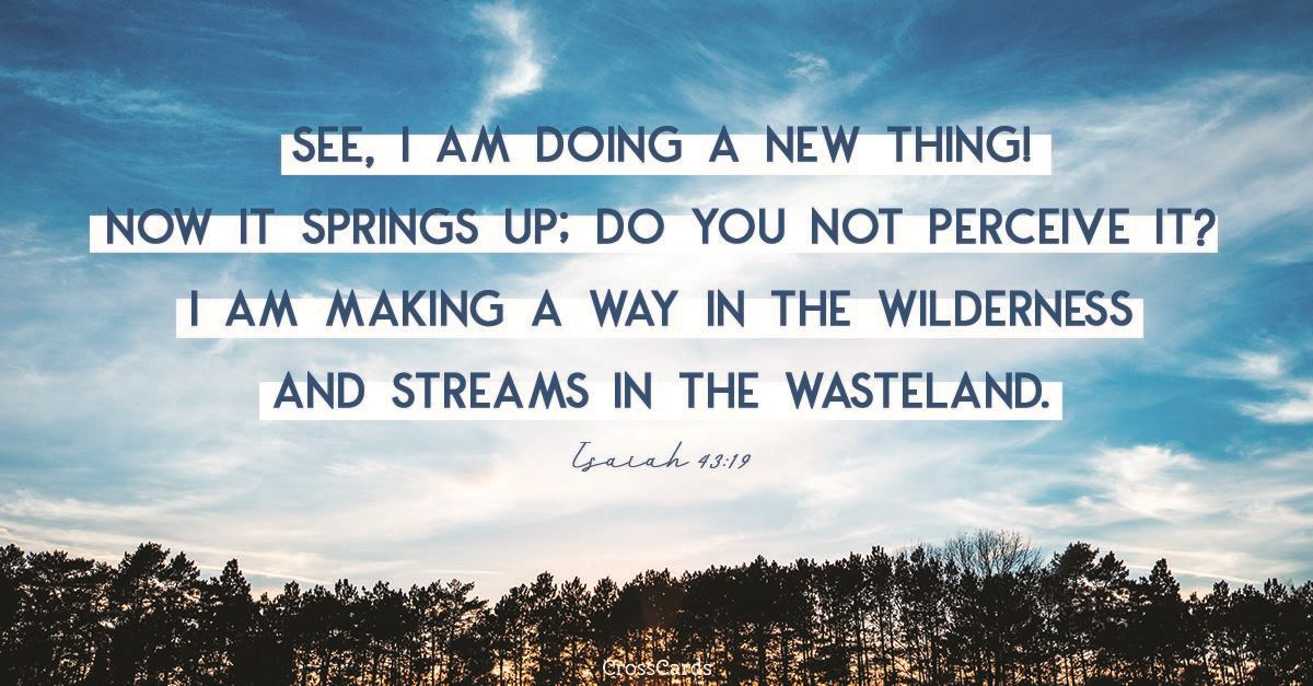 Isaiah 43:19 ecard, online card