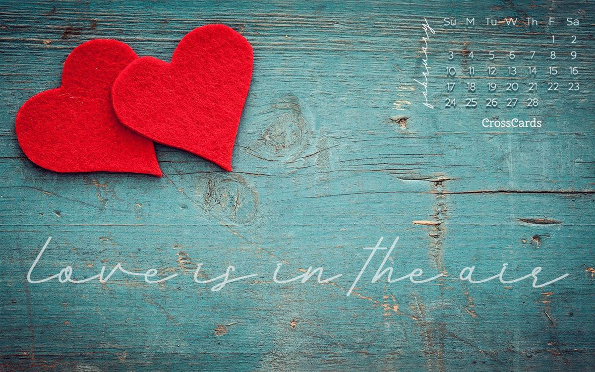 February 2019 - Love is in the Air ecard, online card
