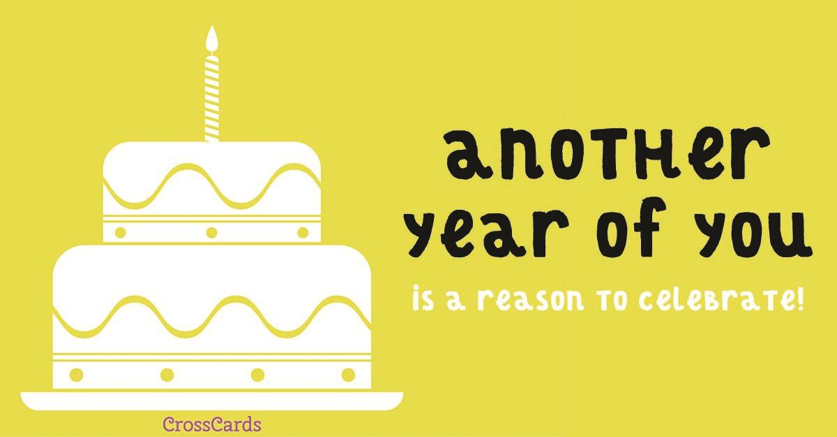 Another Year Of You Ecard Online Card