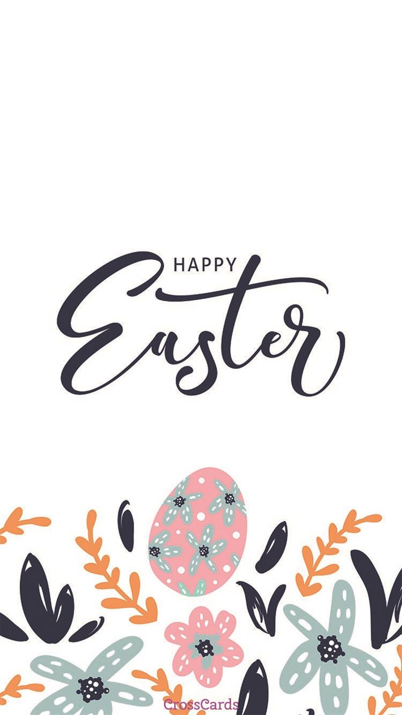Happy Easter mobile phone wallpaper