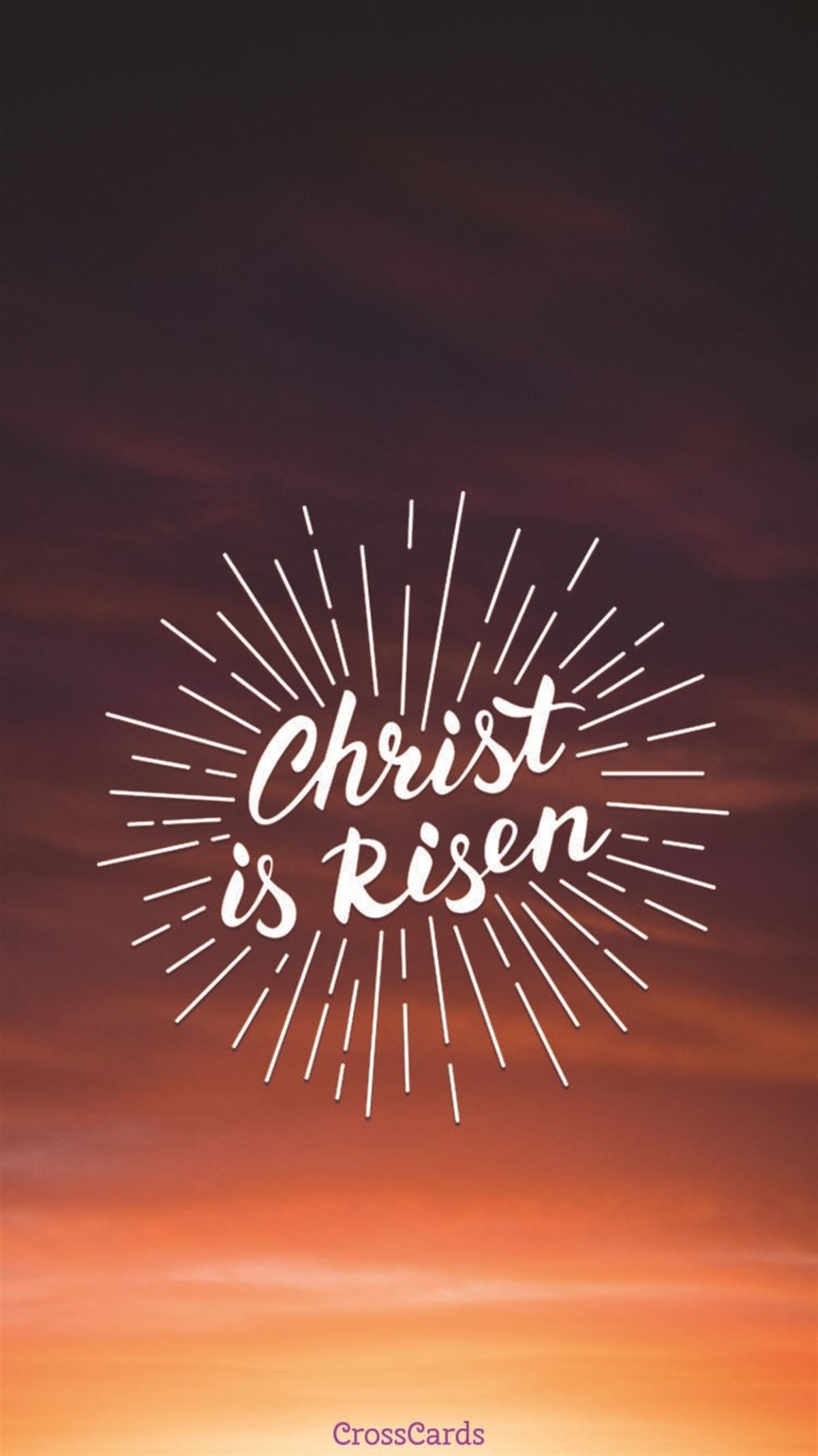 Christ is Risen ecard, online card