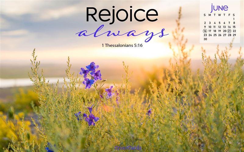 June 2019 - Rejoice mobile phone wallpaper