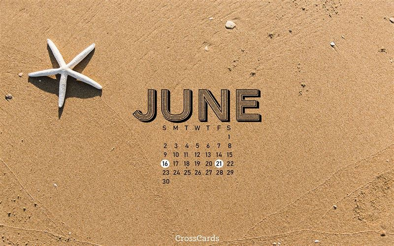 June 2019 - Beach mobile phone wallpaper