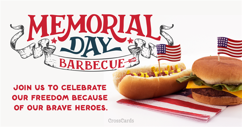 Celebrate Memorial Day ecard, online card
