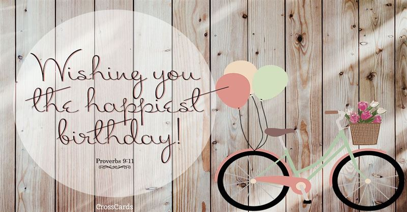 Free Happiest Birthday eCard - eMail Free Personalized