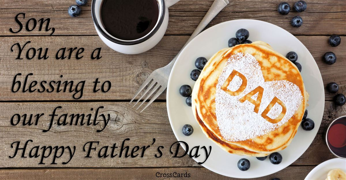 Happy Father's Day Son ecard, online card