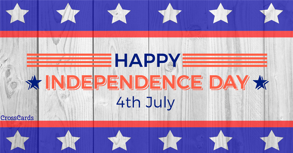 Happy Fourth Ecard Online Card
