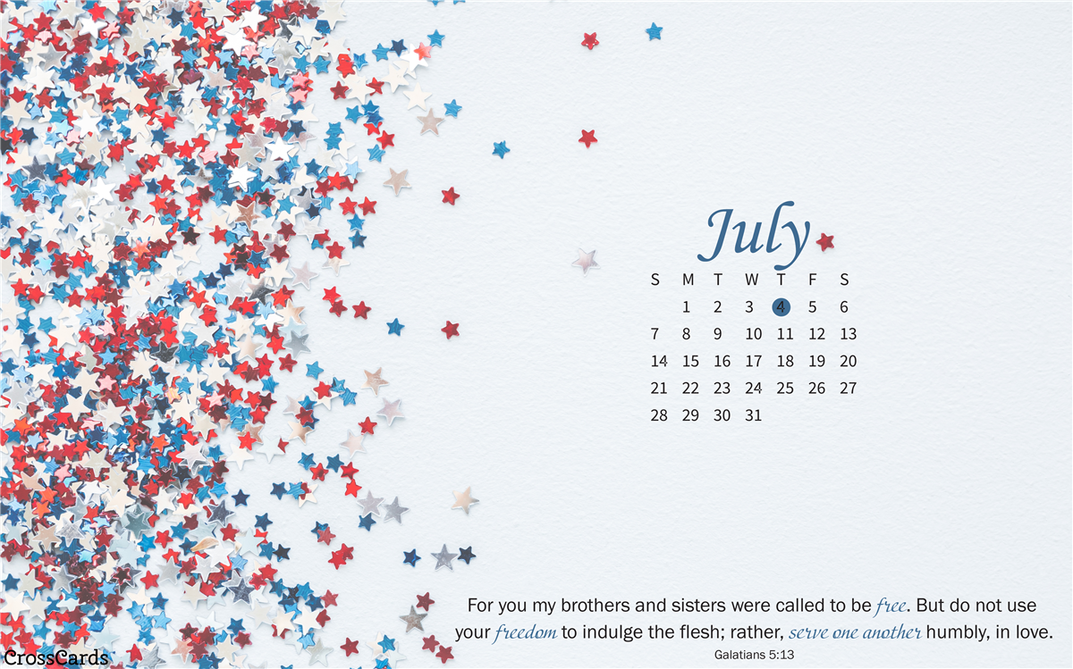 July 2019 Stars ecard, online card
