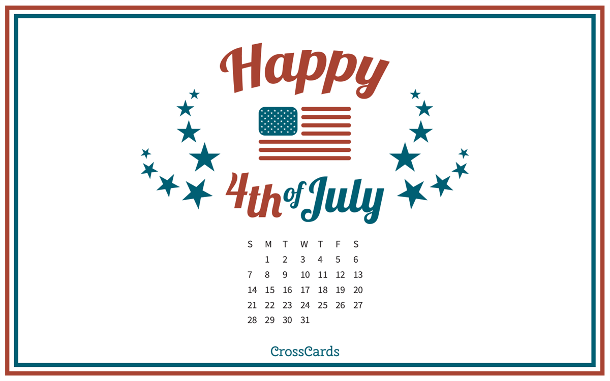 July 2019 Happy Fourth! ecard, online card