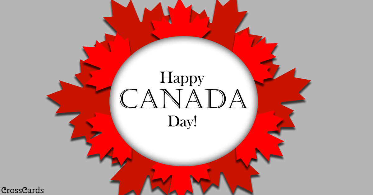 Happy Canada Day! ecard, online card