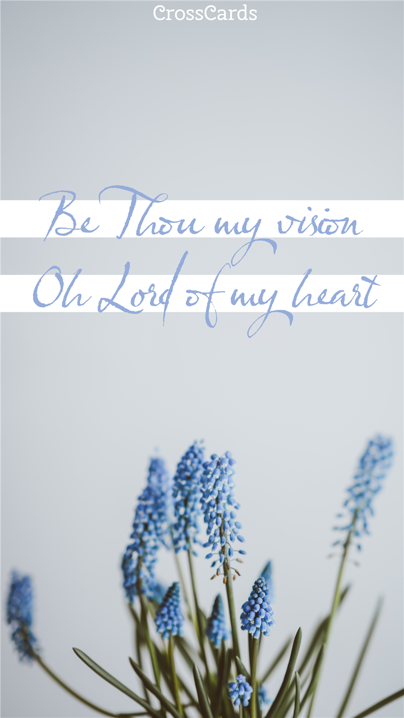 Be Thou My Vision mobile phone wallpaper