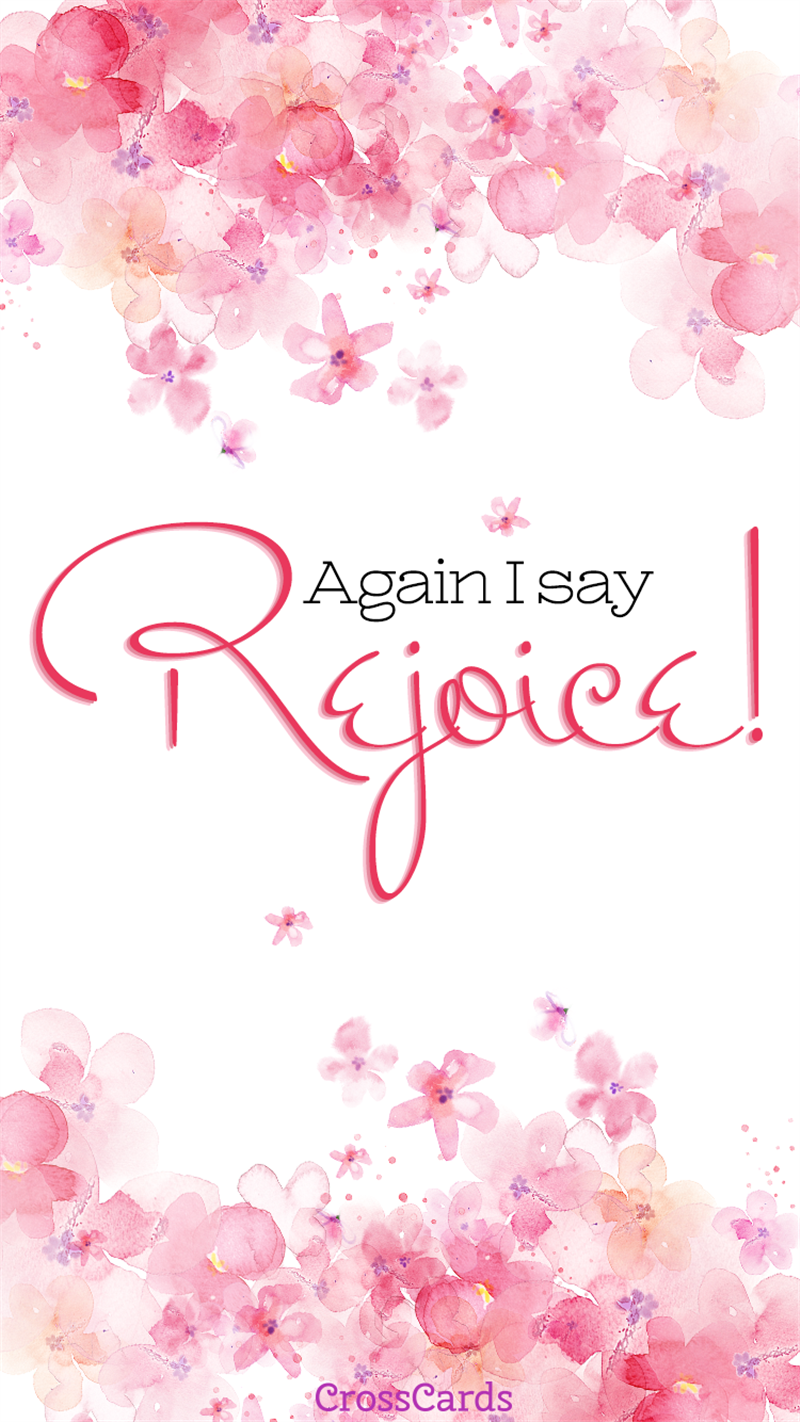 Rejoice! Wallpaper mobile phone wallpaper