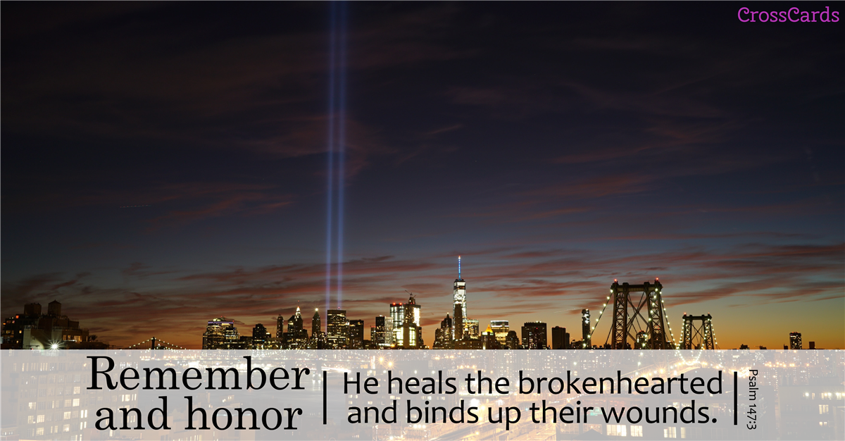 September 11, 2001: Remember and Honor ecard, online card