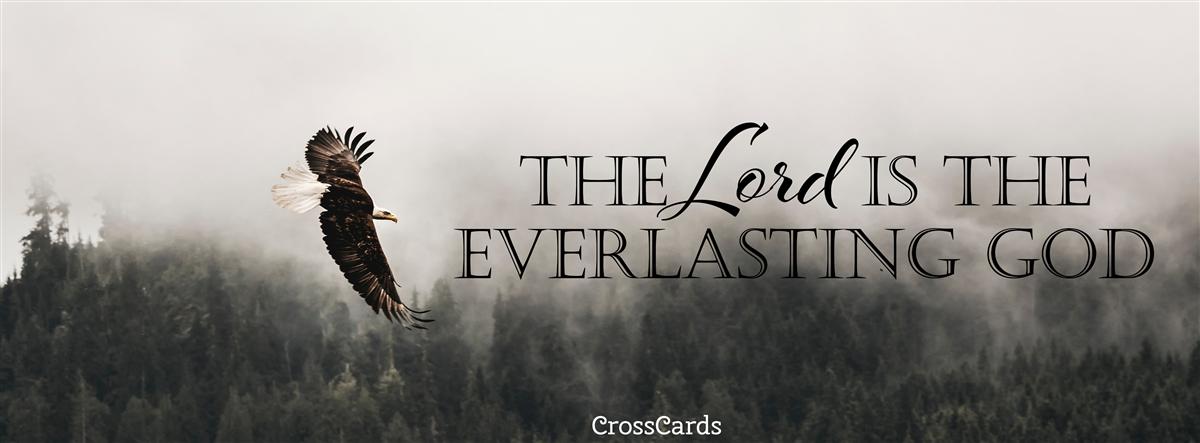 Everlasting God ecard, online card