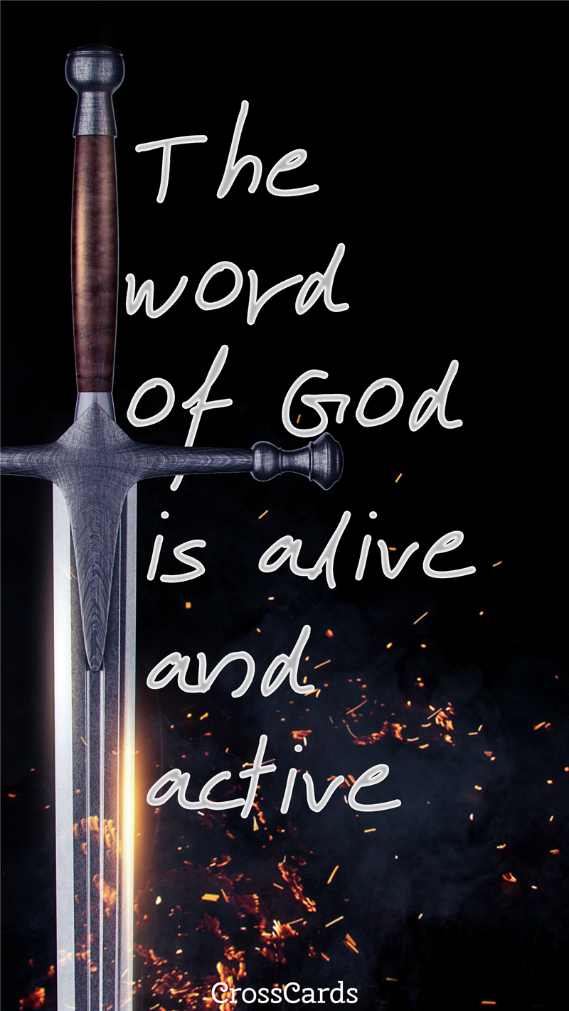 The Word of God mobile phone wallpaper
