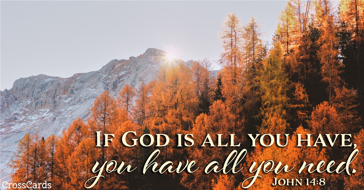 John 14:8 ecard, online card
