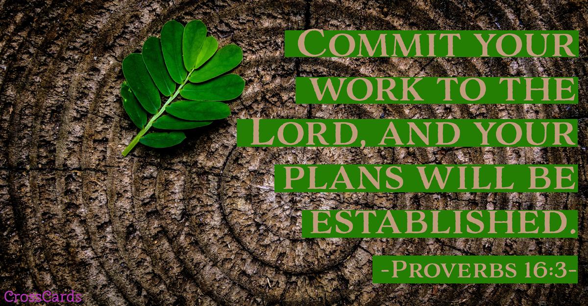 Proverbs 16:3 ecard, online card
