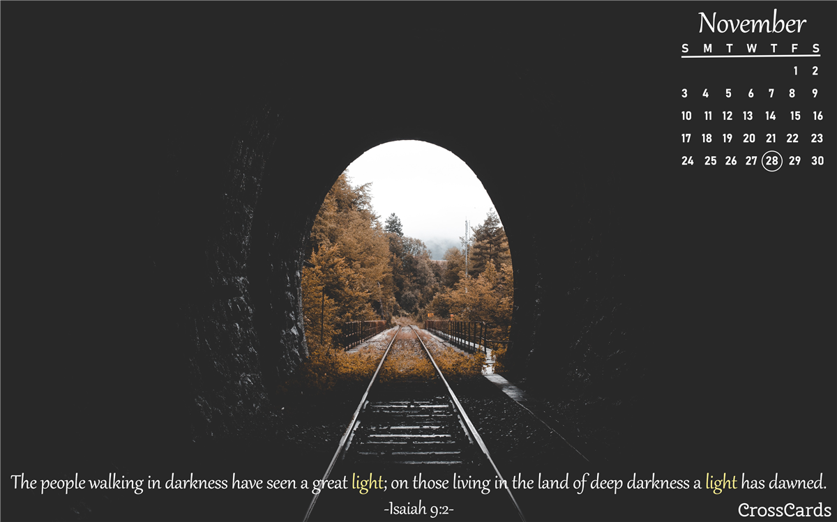 November 2019 - Tunnel ecard, online card