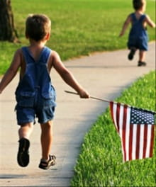 Summer: The Perfect Time to Teach Manners, Flag Etiquette