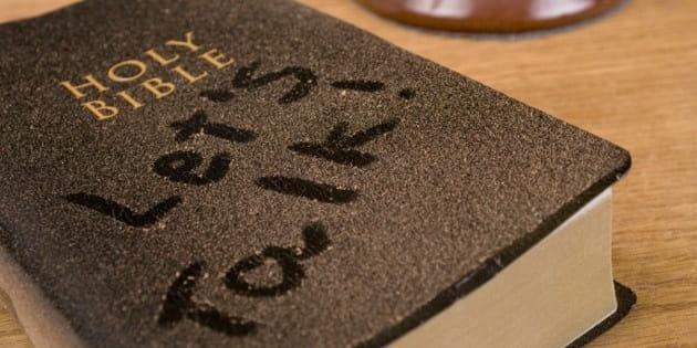 Dusty Bible Let's Talk Header
