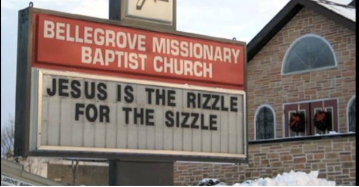 Funny Christmas Church Signs - Video