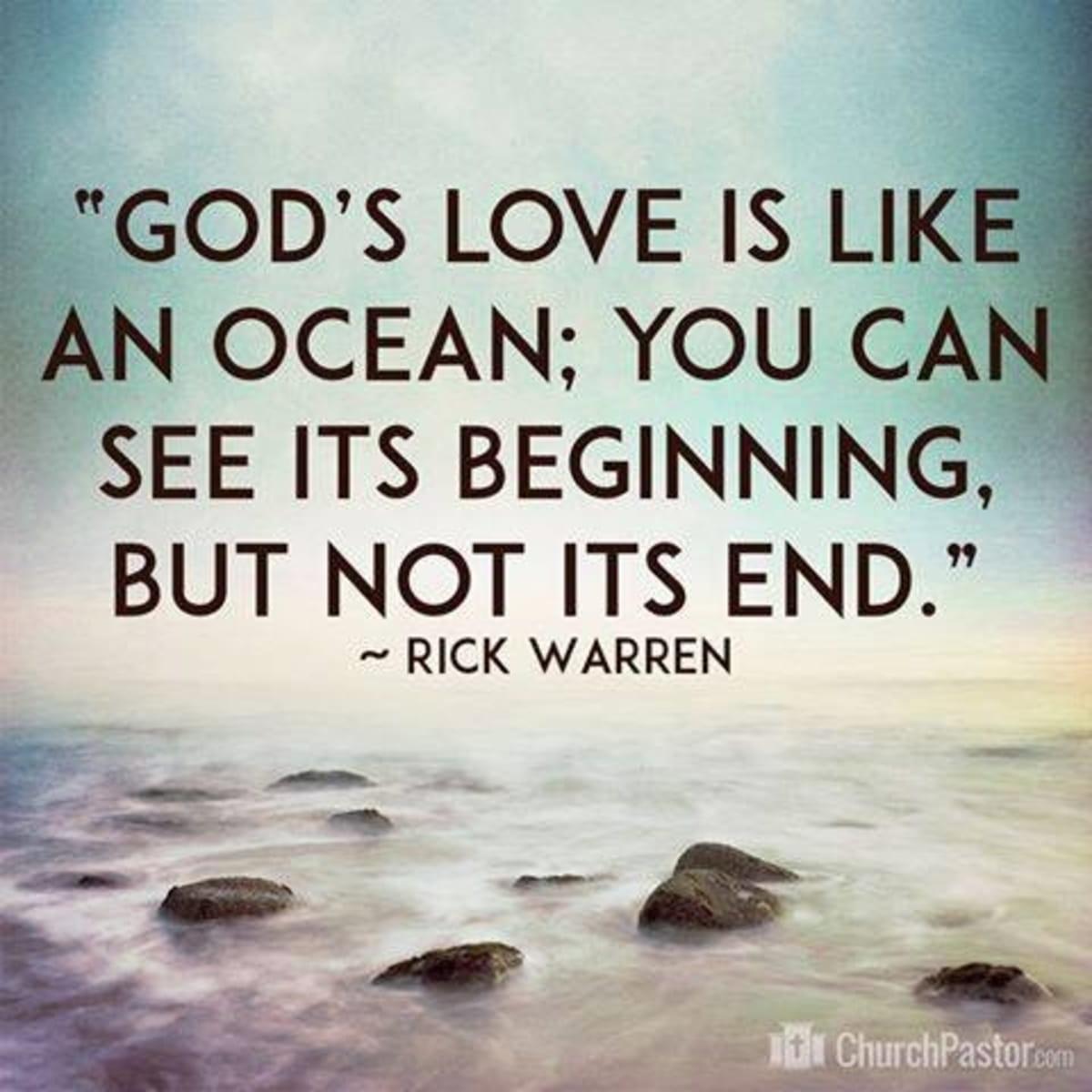 Love Like An Ocean Inspirations