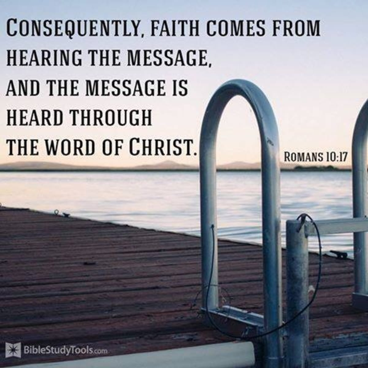 Faith Comes through Hearing