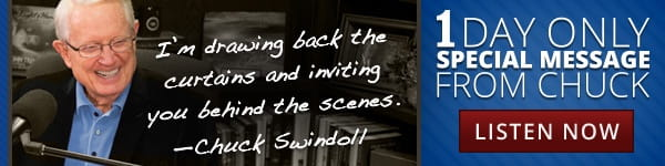 Today's Insight from Chuck Swindoll