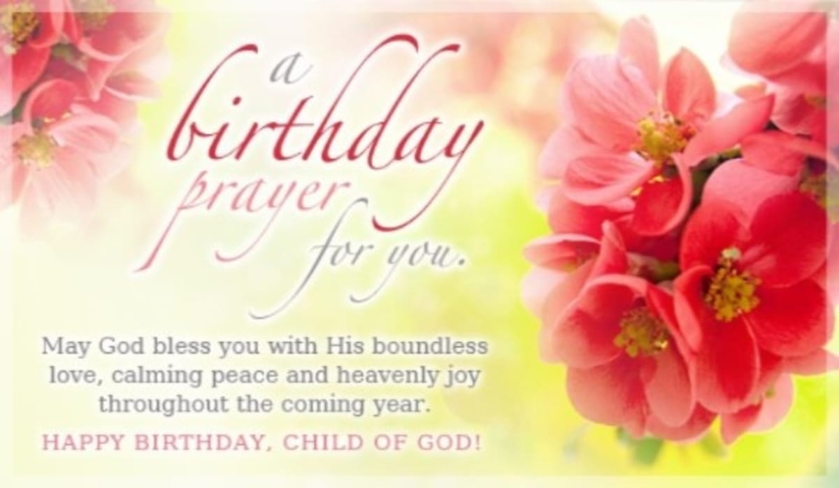 Awesome Birthday Prayers Beautiful Blessings For Myself Loved Ones