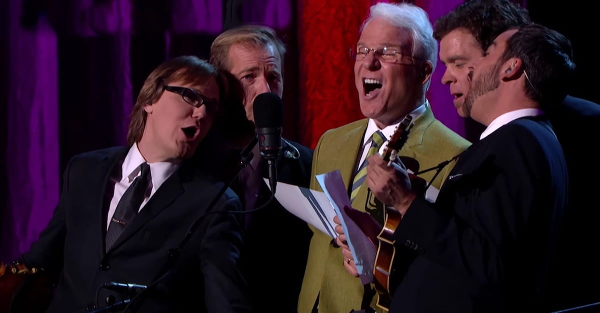 Steve Martin Sings \'Atheists Don\'t Have No Songs\'