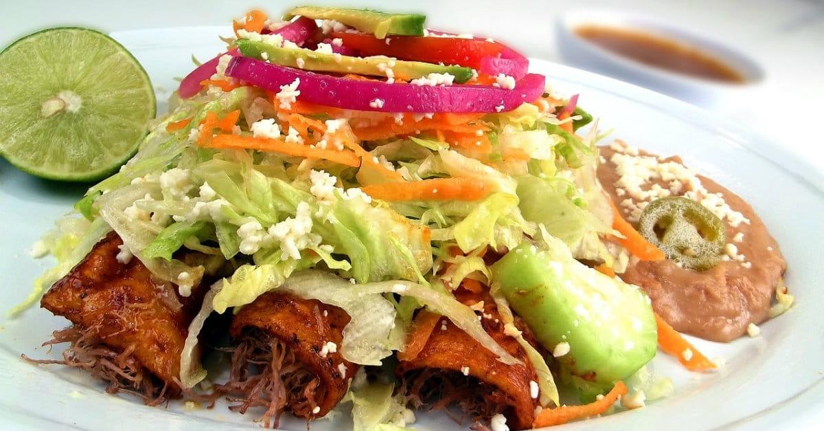 The Christian Life is Balanced, Like a Mexican Food Combo Plate