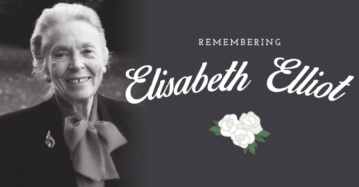 40 Inspiring Quotes From Elisabeth Elliot