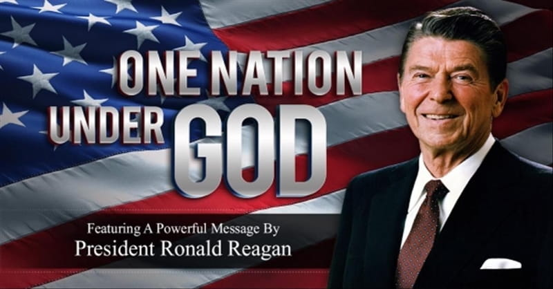 'One Nation Under God' - Powerful Speech From President Reagan