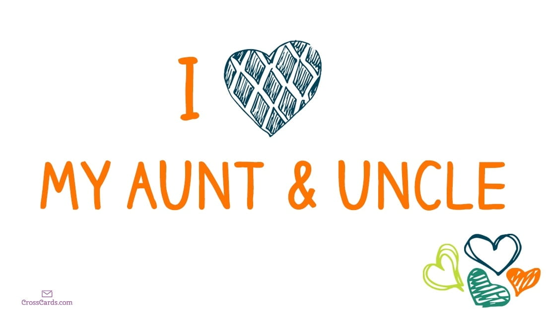 Happy Aunt And Uncle Day 7 26 Ecard Online Card