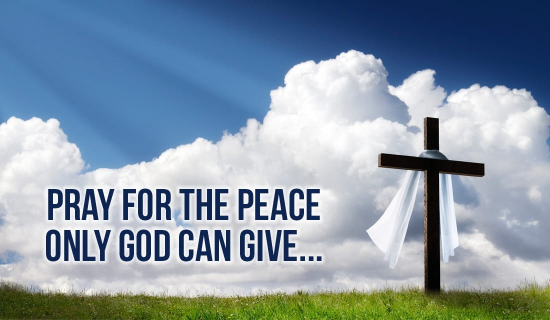 Pray for the Peace Only God Can Give ecard, online card