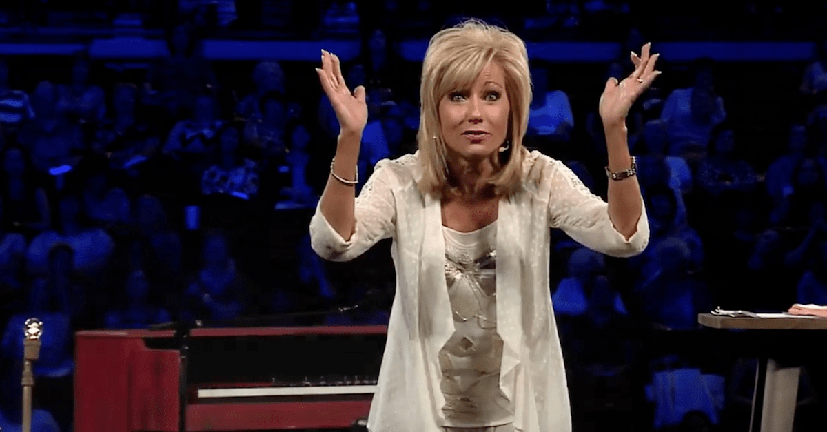 Beth Moore Shares Story of Vision from God During Prayer