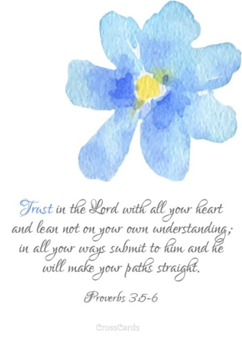 Trust in the Lord with All Your Heart - Printable