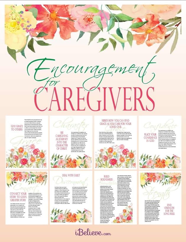 Encouragement for Caregivers