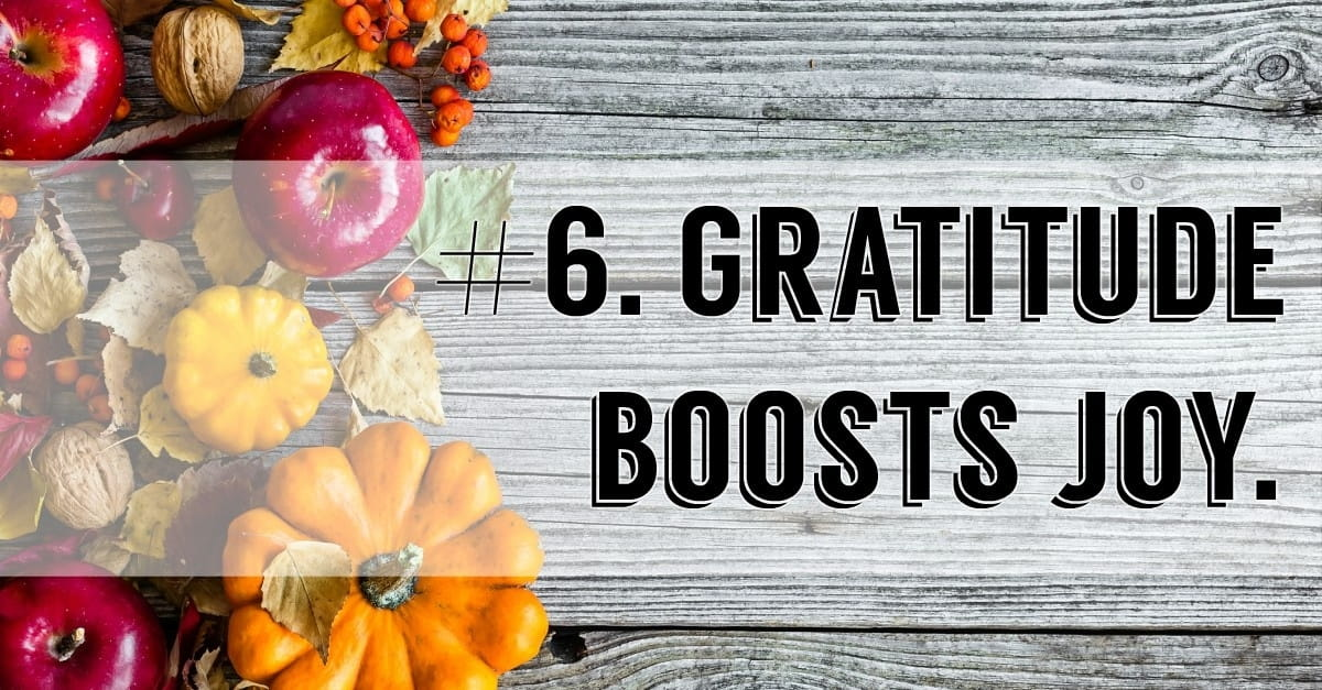 10 Reasons It's Good to Give Thanks