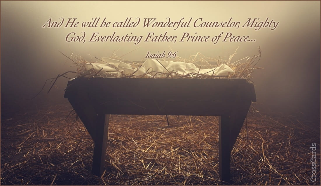 Isaiah 9:6 ecard, online card