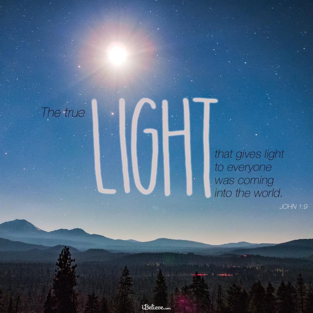 Light Of Christmas.A Prayer For The True Light Of Christmas Your Daily Prayer