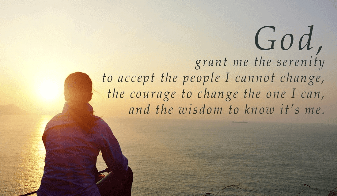 serenity prayer, lord grant me serenity
