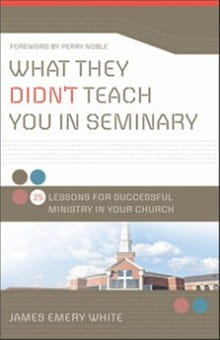 What They Didn't Teach You In Seminary