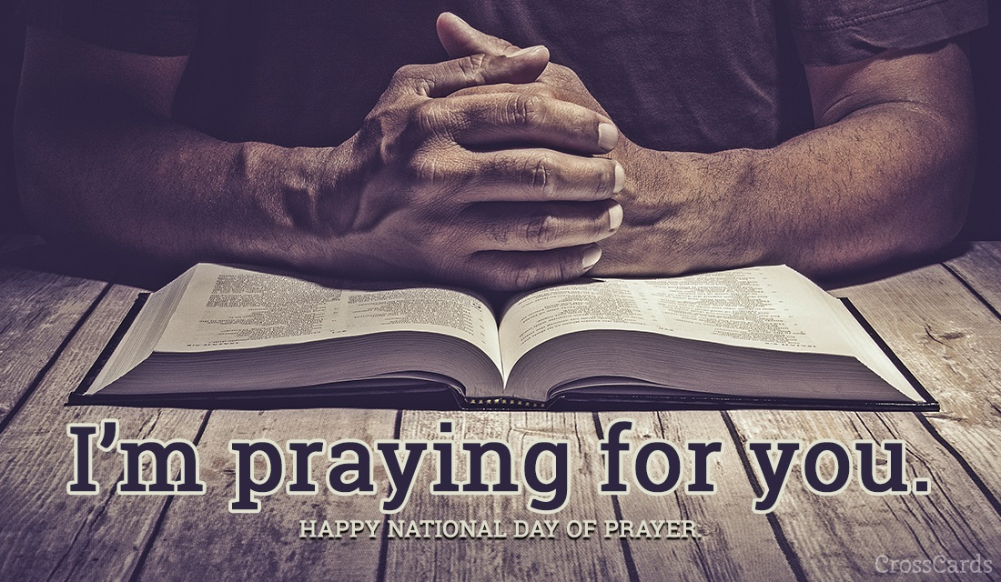 I'm Praying for You - National Day of Prayer ecard, online card
